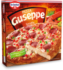 Guseppe Pizza with Turkish Sucuk