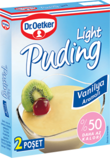 Light Pudding with Vanilla Flavor