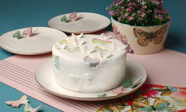 Kelebekli Bahar Pastası