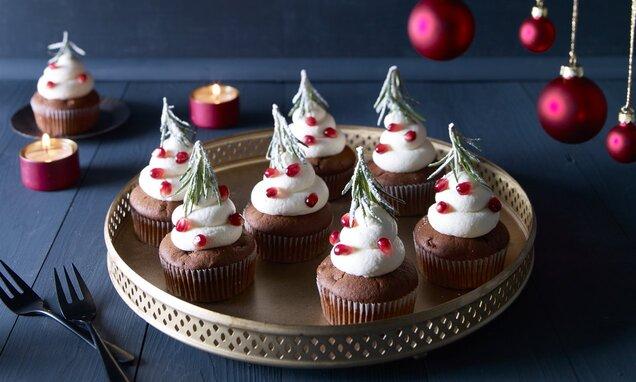Çam Ağacı Cupcake