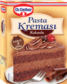 Pastry Cream with Cocoa Flavor