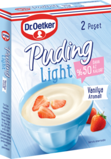 Light Puding Vanilya Aromalı