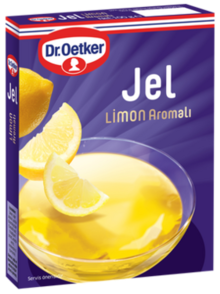 Gel with Lemon Flavor