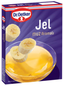 Gel with Banana Flavor