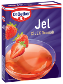 Gel with Strawberry Flavor