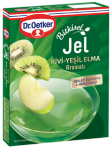 Herbal Gel with Kiwi and Green Apple Flavor
