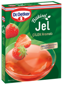 Herbal Gel with Strawberry Flavor