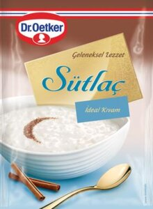 Sütlaç (Rice Pudding)