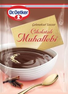 Muhallebi with Chocolate