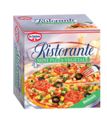 Ristorante Mini Pizza Vegetale